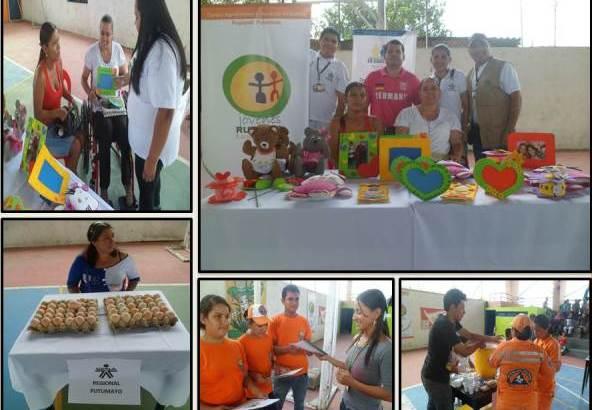 SENA presente en el Mercado Campesino en Puerto Caicedo