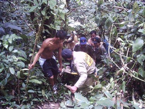 Para Recodar : Simulacro de Búsqueda y Rescate en Hornoyaco