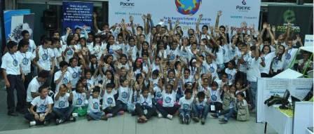 Los niños hacen parte de los grupos de investigación Pythowaves, Robolution Team y Argonautas de la Ciencia