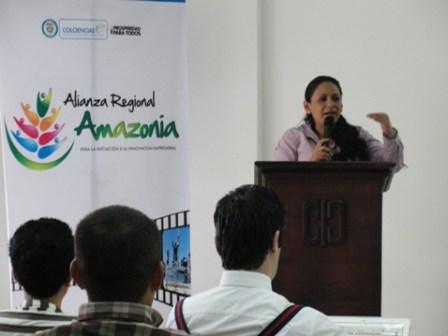 Deccy Ibarra - Presidenta Cámara de Comercio del Putumayo