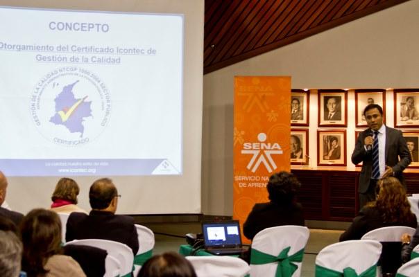 Icontec certificará la calidad del SENA