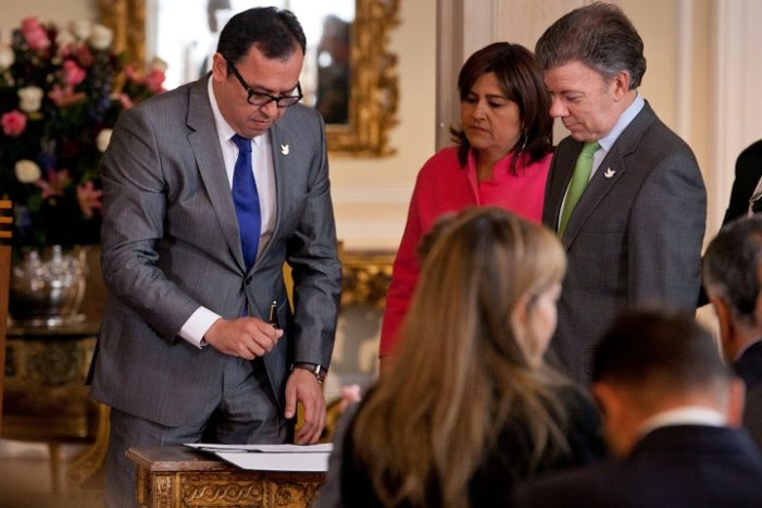 Alfonso Prada Gil se posesionó como director general del SENA