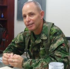 Bg Gral Alfonso Vacca Torres - Comandante de la Brigada de Selva No. 27