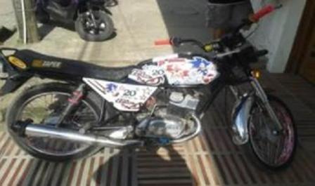 motocicleta recuperada