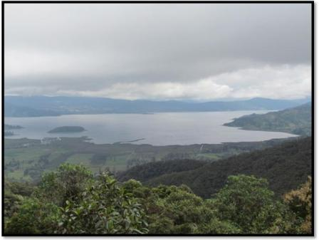 Laguna de la Cocha - 2014. Foto : Silvio López Fajardo