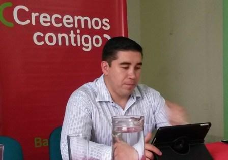Santiago Venegas, gerente Comercial de Bancompartir