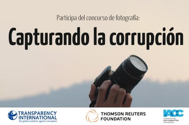 Participa del concurso de fotografía: Capturando la corrupción.