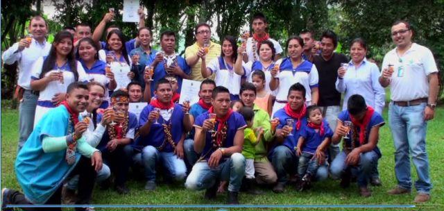 Jóvenes indígenas se gradúan como técnicos en Manejo Ambiental