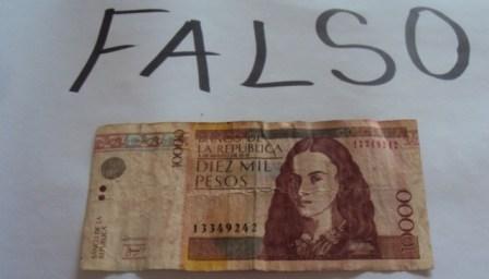 Gran cantidad de billetes de 10 mil pesos circula en el bajo Putumayo