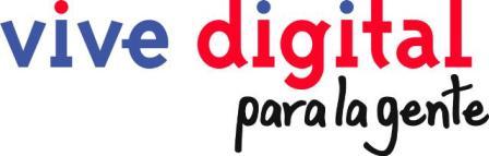 Conexiones Digitales Vive Digital para la gente