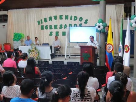 Jaime Alejandro Narváez, Coordinador Académico de la regional en el Putumayo