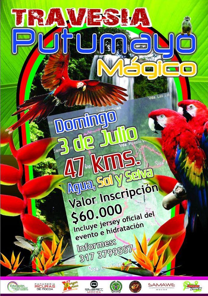 Travesía Putumayo Mágico – 47 km de Agua, Sol y Selva
