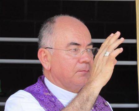 Monseñor Luis Albeiro Maldonado, Obispo de la Diócesis Mocoa-Sibundoy,