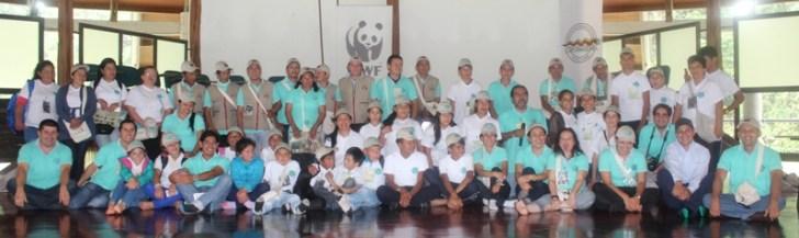 Amigos del oso danta y jaguar_equipo interinstitucional