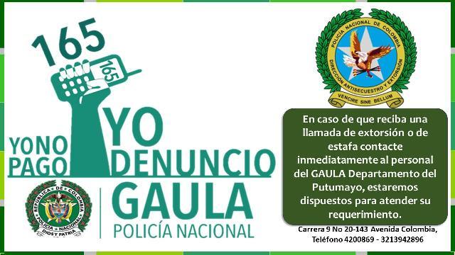 YO NO PAGO, YO DENUNCIO LINEA 165