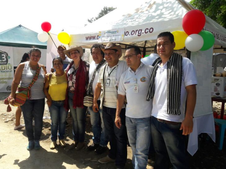 Directivos y Coordinadores de Unidades de Extensión y Planta Agroindustrial ITP.