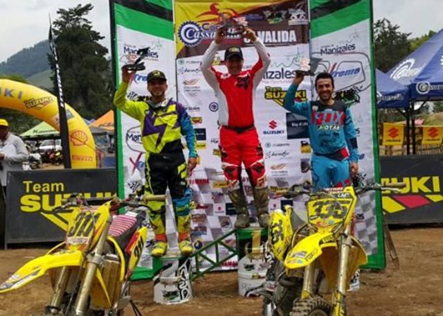 Pilotos Siguen Brillando En Motocross Nacional
