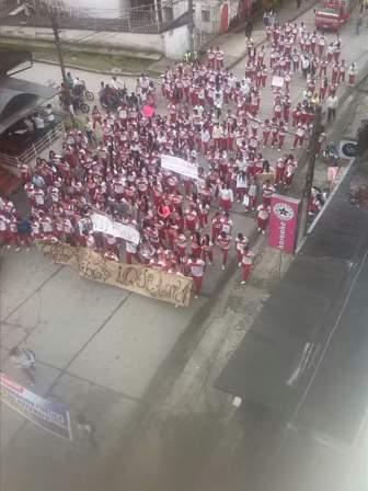Manifestación en Mocoa - Foto : Carlos Arbey Claros Cabrera (FAcebook)