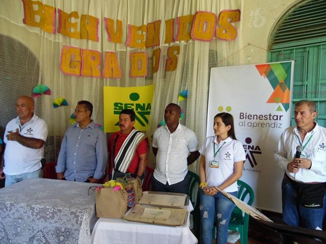 En Mayoyoque, con la formación del SENA se contribuye a la reactivación económica