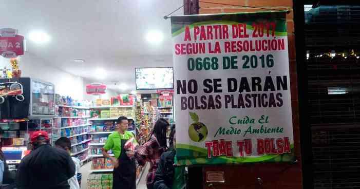 Así va la regulación de las bolsas plásticas en Colombia