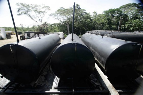Tanques de una de las instalaciones de la empresa Amerisur Resources en el Putumayo. / www.amerisurresources.com/