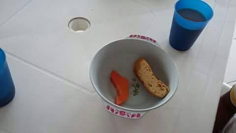 La precaria alimentación que reciben los niños en colegios de Putumayo