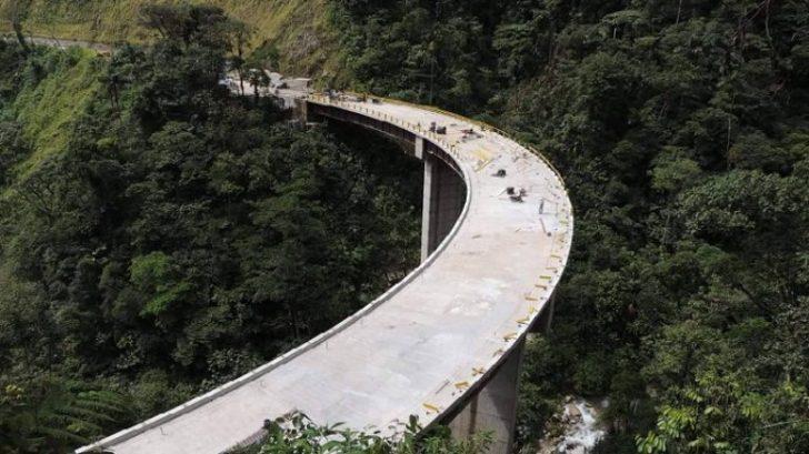 Puente Campucana, variante San Francisco - Mocoa. | Foto: Contratista.