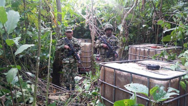 Incautados 955 galones de combustible de contrabando en Puerto Leguízamo