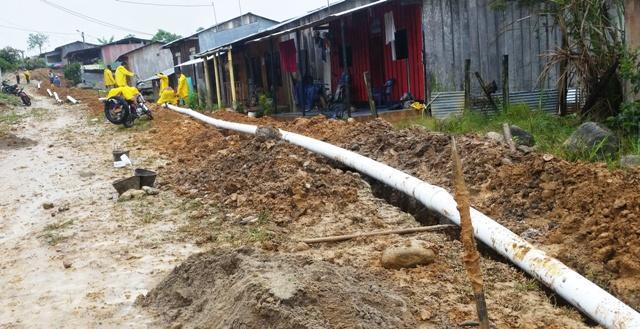 $2.392 millones invierte la administración municipal de Orito para la construcción de redes de alcantarillado sanitario en sector urbano