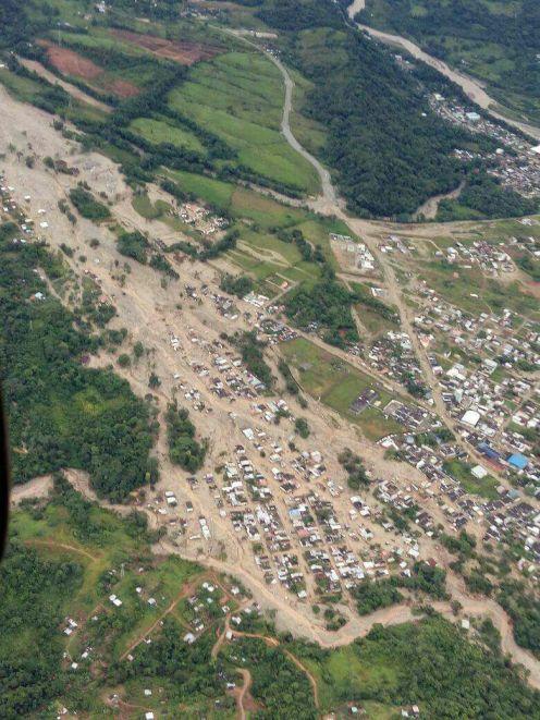 Rio Sangoyaco, sector Carcel de Mocoa, San Miguel, Los Pinos