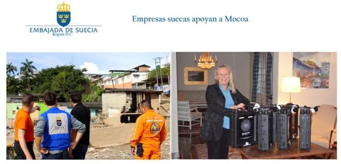 Suecia apoya a Mocoa