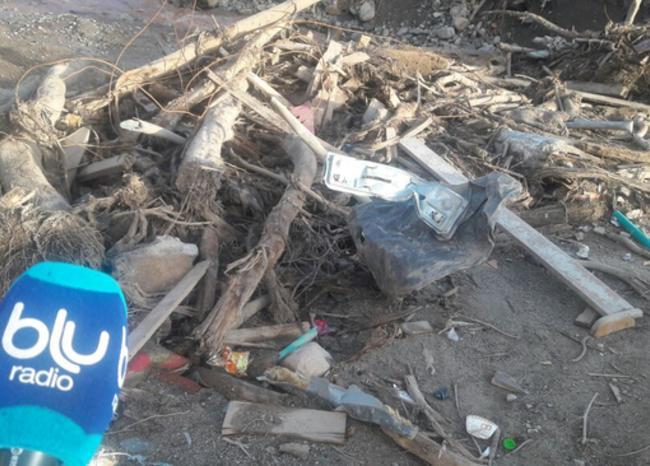 BLU Radio, incumplimiento con limpieza en Mocoa / foto: Blu Radio