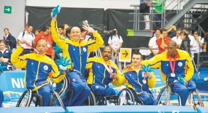 El proyecto pretende capacitar entrenadores y técnicos del sector, entre otros. / Cortesía Comité Paralímpico Colombiano