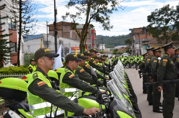 Policía entrega parque automotor para la seguridad ciudadana en el Putumayo