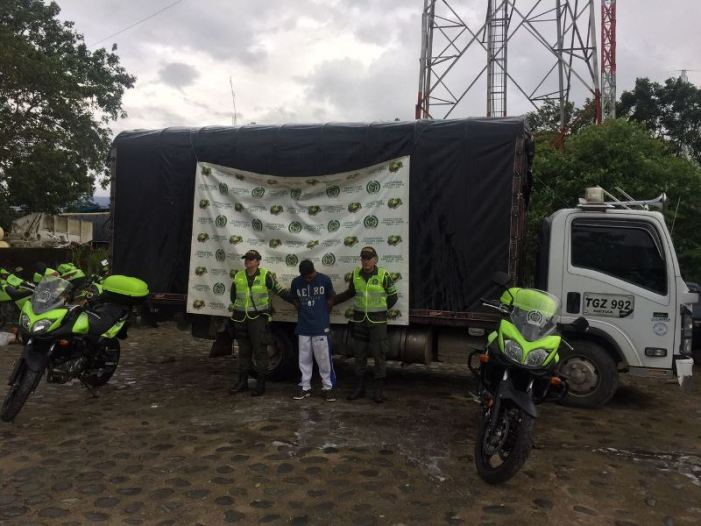 Policía Putumayo recupera vehículo hurtado en San Miguel (P)