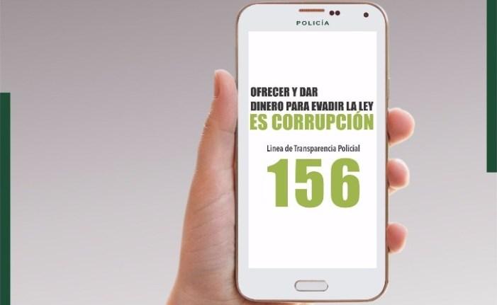 Línea de Transparencia Policíal – 156
