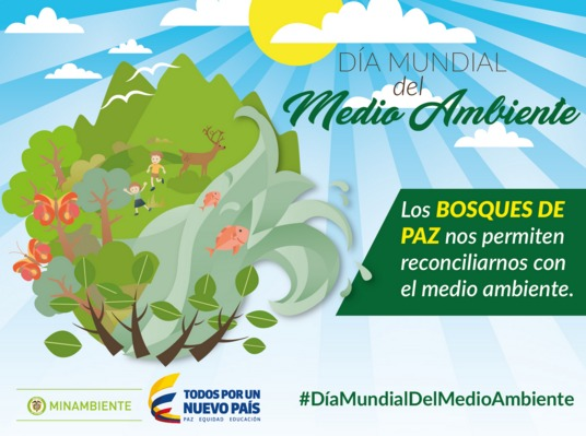 En el Día Mundial del Medio Ambiente Colombia celebra su patrimonio natural