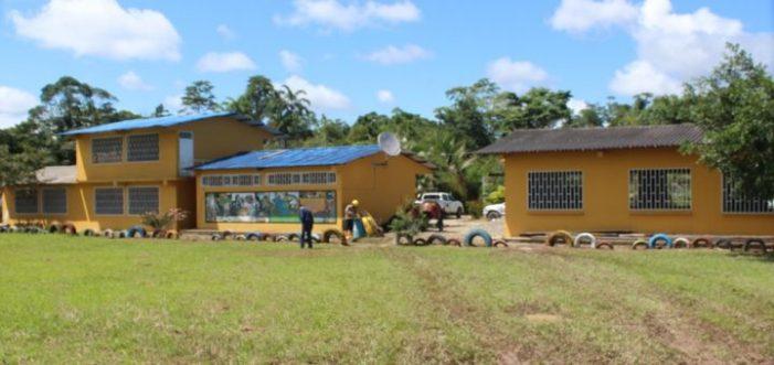 Institución Educativa Santa Isabel con Bachillerato Completo… Amerisur Colabora en esta meta.