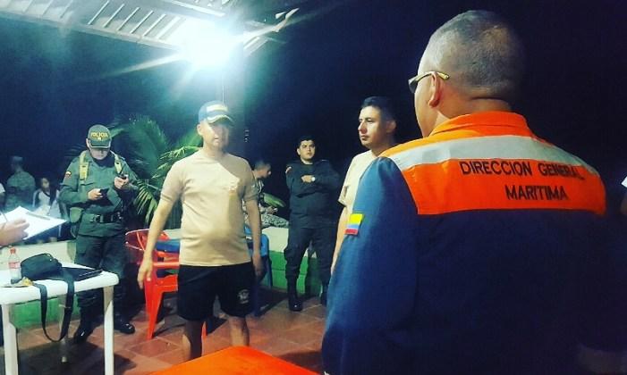 Armada Nacional lidera labores de búsqueda y rescate en el Río Putumayo