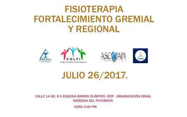 Fisioterapia, Fortalecimiento Gremial y Regional