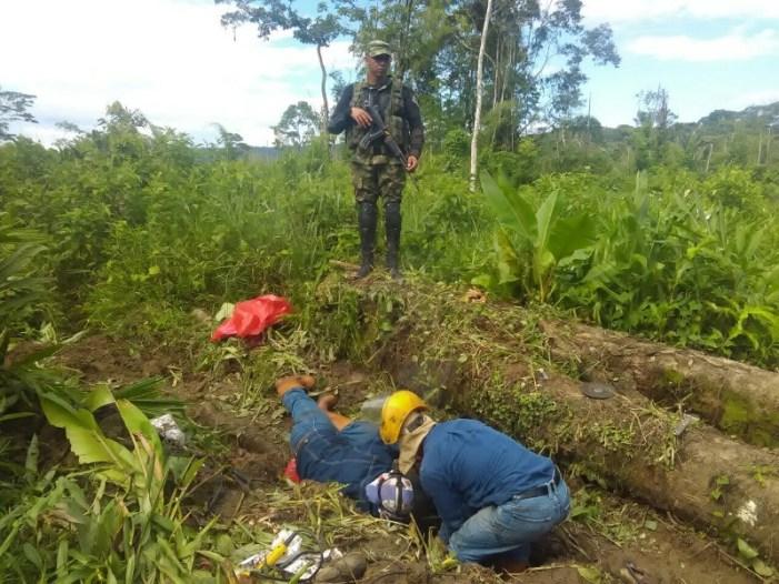 Ejército halla y sella válvula para la extracción ilícita de hidrocarburos en Putumayo
