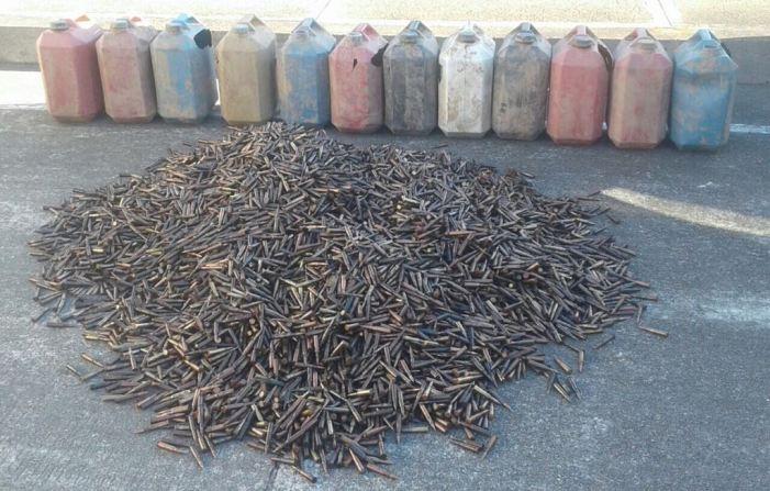 Depósito ilegal con 16.000 cartuchos fue hallado por el Ejército Nacional en Putumayo