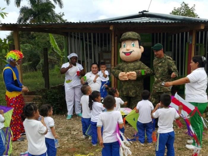 El Ejército Nacional sigue llegando al corazón de los putumayenses