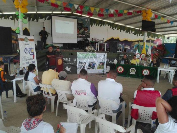 Primer encuentro comunitario por la paz en el Putumayo