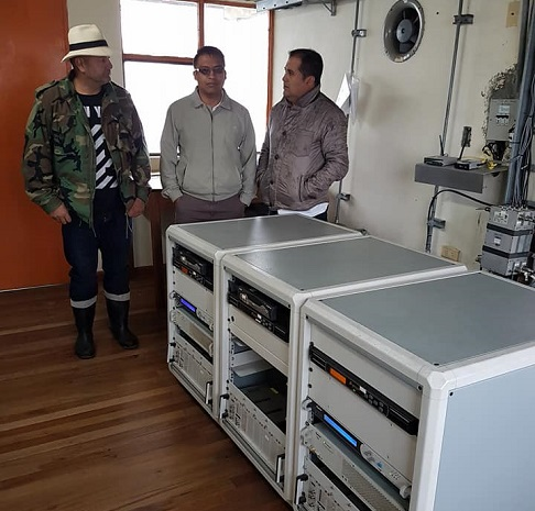 Instalan Antenas de Televisión Digital Terrestre Para El Valle de Sibundoy
