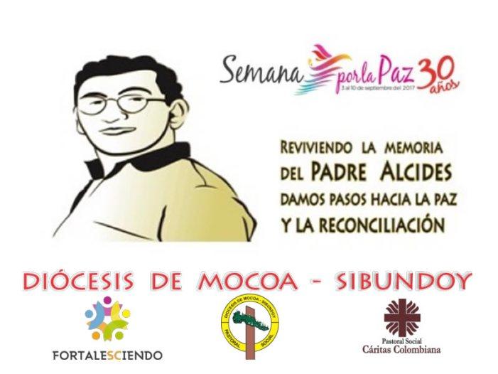 Reviviendo la memoria del Padre Alcides Jimenez, damos pasos por la paz y la reconciliación