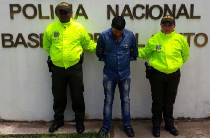 """Capturado alias """"Silencio"""", uno de los mas buscados en El Putumayo"""