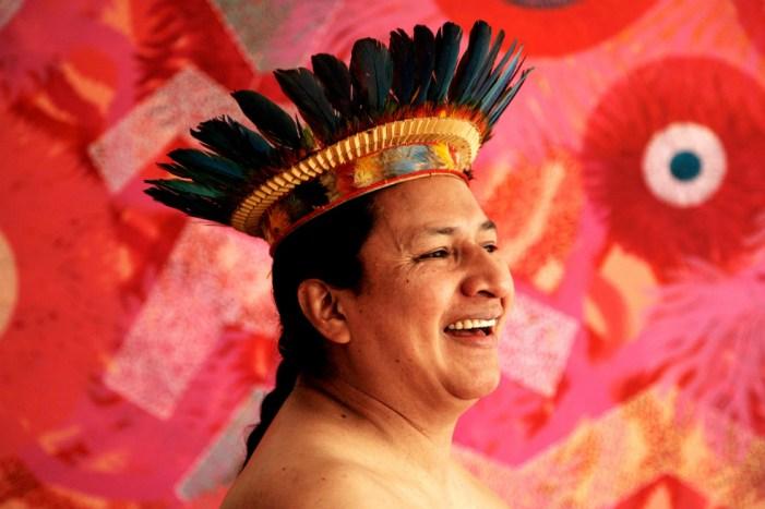 """Benjamín Jacanamijoy, """"Hijo del viento"""""""
