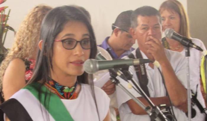 Este lunes imputan cargos a la gobernadora del Putumayo