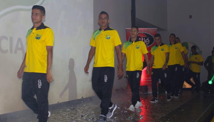 Atlético Huila presentó su plantilla para el 2018
